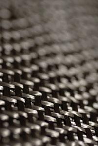 fibre de carbone tissée